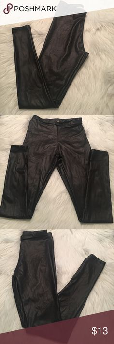 Black Shiny Leggings Black Shiny Leggings No Brand Other