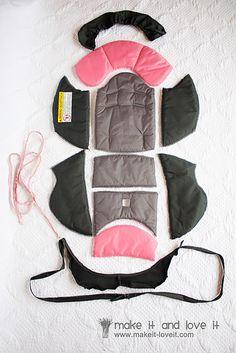diy how to make cooling car seat