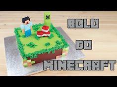 Bolo do Minecraft | Como Fazer Bolo de Aniversário do Minecraft | Cakepedia - YouTube