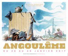 L'affiche du festival d'Angoulême dévoilée - Libération
