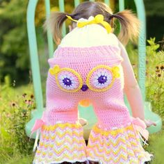 Owl Pants Crochet Pattern Is Beyond Adorable