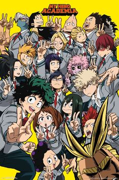 on My Hero Academia Selfie Mount Bundle Mural Poster X 34 Multi . Details on My Hero Academia Selfie Mount Bundle Mural Poster X 34 Multi .,Details on My Hero Academia Selfie Mount Bundle Mural Poster X 34 Multi . My Hero Academia Episodes, My Hero Academia Memes, Hero Academia Characters, My Hero Academia Manga, Anime Characters, Hero Poster, Poster S, Poster Wall, Poster Prints