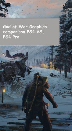 God of War Graphics Comparison: PS4 vs. PS4 Pro from here..  #PS4 #PS4Pro #GodofWar #graphics #comparison #game #games #gaming