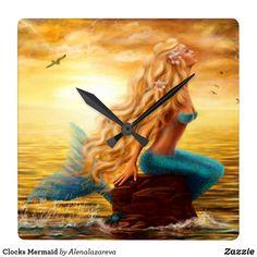 Clocks Mermaid