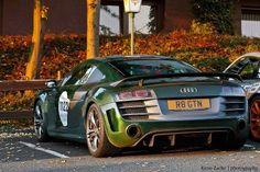 Audi R8 in green