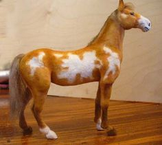 Pinto or Skewbald Horse by Linda Fisher