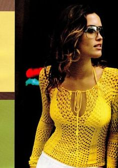 Delicadezas en crochet Gabriela: Blusas / Paso a paso