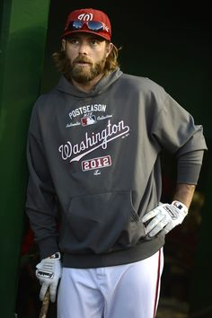 Jayson Werth... The entire reason I started watching baseball again. Go Nats!