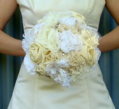 felt, lace, rosettes, satin, brooches, chiffon, cotton, pearls-lovely