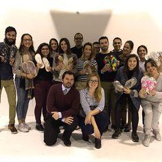Una tarde en buena compañía con los estudiantes y profes de Coco School ;)