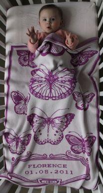 Studio Roam - personalized baby blanket