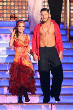 val chmerkovskiy shawn johnson