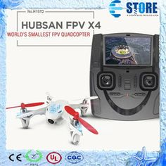 Quadcopter 4CH 6 Axis Camera Drone Quadcopter Drone Hubsan X4 H107D FPV Drone w  Remote Control Transmitter Real time,wu