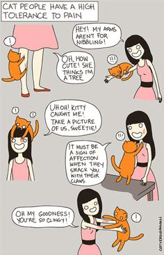 Cat versus Human (@Cher Houston this made me think of our cat jokes lol)