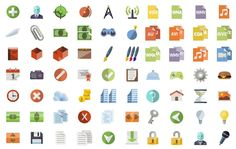 This is a gigantic set of more than 3,600 icons in flat design style, which can be used in both personal and commercial projects. Created in a softly colored yet vibrant style, and available in three formats, there is an icon here to suit any requirement.