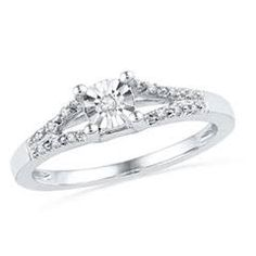 promise ring diamond - Google Search