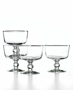 The Cellar Serveware, Set of 4 Dessert Bowls - Glassware - Dining & Entertaining - Macy's