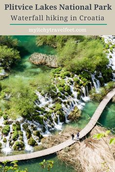 Tips for hiking to the waterfalls at Plitvice Lakes National Park in Croatia. Read our travel tips to make the most of your trip to Plitvice Lakes. This is a bucket list trip! Croatia National Park, Plitvice Lakes National Park, Europe Travel Tips, Travel And Tourism, Best Of Croatia, European Destination, Hiking Tips, Croatia Travel, Travel Activities
