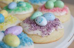 Soft Bird's Nest Sugar Cookies