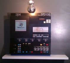 IBM System 370 Model 138 Mainframe Operator Control Panel (1974).