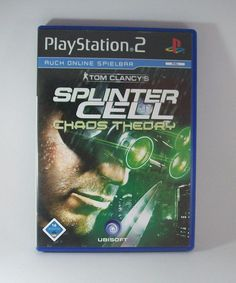 #Tom #Clancy s #Splinter #Cell #Chaos #Theory #Sony #Playstation ( #PS2 ) #Spiel #eBay