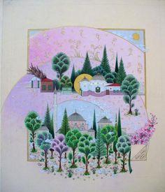 Fatma Zehŕa Aktaş...Sünbül efendi camii minyatürü...YALOVA NAKIŞHANESİ