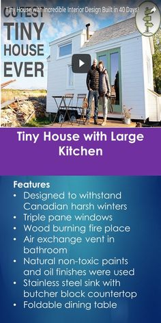 Tiny House with Large Kitchen | Tiny Quality Homes