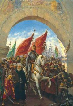Fatih Sultan Mehmet Han / İstanbul'a giriş