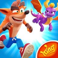 Ipod Touch, Crash Bandicoot Characters, Doom 3, Crash Team Racing, Running Friends, Runner Games, Spyro The Dragon, Crown Logo, Ipad Mini 3