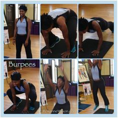 burpees. that exercise aint no joke.