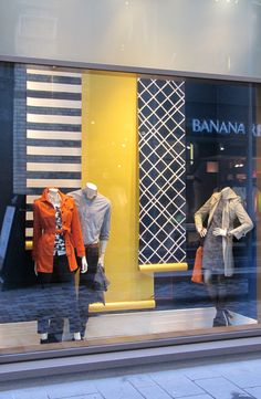 Spring 2013 Trend: Geometric pattern - BANANA REPUBLIC