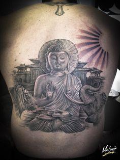 BUDA TATTOO BUDISM BUDISMO BUDISME