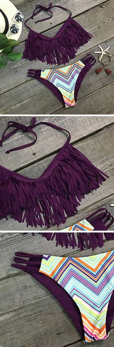 Tassel #style//Halter design--It's the perfect day to spoil…