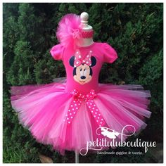 Items similar to Princess Minnie Mouse Inspired Tutu Dress, Minnie Mouse Birthday Outfit, Pink Minnie Mouse, Pink Minnie Mouse on Etsy Minnie Mouse Birthday Outfit, Birthday Girl Dress, Pink Birthday, Mom Birthday Gift, 2nd Birthday Parties, Birthday Wishes, Birthday Nails, Husband Birthday, Birthday Crafts