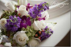 bridal wedding bouquet purple and white roses hydrangea bling www., Pottinger Photography Kreutzer and Dorl Florist Purple Wedding Bouquets, Wedding Colors, Wedding Decorations, Wedding Ideas, Table Decorations, Beautiful Bouquets, White Roses, Beautiful Day, Hydrangea