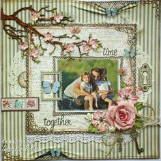 Guest Designer for Graphic 45!! Plus...{VIDEO TUTORIALS} - Such a pretty mess