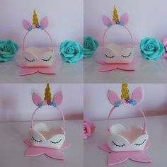 Party Ideas Birthday How To Make 38 Ideas Foam Crafts, Diy And Crafts, Crafts For Kids, Arts And Crafts, Unicorn Themed Birthday, Unicorn Party, Unicorn Baby Shower, Unicorn Crafts, Princess Birthday