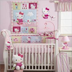 HK nursery http://1.bp.blogspot.com/-16vD8uDZt48/TtOK-yh_pmI/AAAAAAAABL0/gC5ivbGw5MY/s1600/hello-kitty-nursery-3.jpg