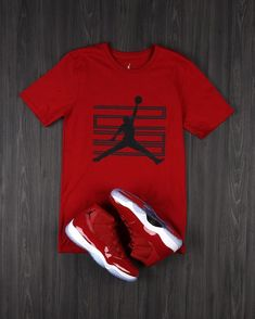 Air 11 Win Like Collection: Pick up the Air 11 Tee in stores and online. Dope Outfits For Guys, Swag Outfits Men, Family Outfits, Nike Outfits, Trendy Outfits, Jordan 11 Outfit, Jordan Outfits, Dress With Sneakers, Sneakers Fashion