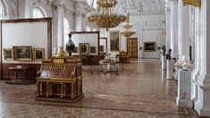 The Private Rooms of Empress Maria Alexandrovna in the Winter Palace-- State Hermitage Museum in St. Petersburg Russia
