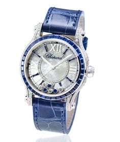 Horlogerie Bâle 2014 Chopard montre Happy Sport Medium Automatique