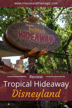 Review - Tropical Hideaway at Disneyland - Tropical Hideaway is a quick-service or counter-service restaurant located in Adventureland in Disneyland. The theming takes inspiration from both the Jungle Cruise and the Enchanted Tiki Room which are located to either side of the restaurant. Read on for more information about the history and menu of Tropical Hideaway, and of course food photos.#disneyland #disneylandfood #disneylandrestaurant #disneylanddining Disneyland Dining, Disneyland Restaurants, Disneyland Food, Disney Dining, Disneyland Resort, Walt Disney World Vacations, Disneyland Vacations, Disney Travel, Family Vacations