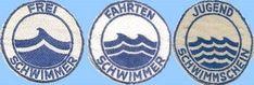 Frei-, Fahrten- und Jugend-Schwimmer Abzeichen