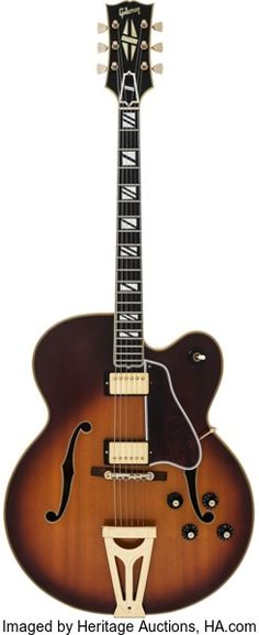 Musical Instruments:Electric Guitars, 1968 Gibson Super 400 CES Sunburst Hollow Body Electric Guitar,Serial #552019....