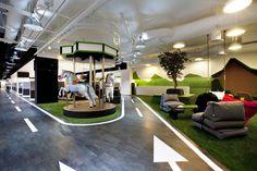SingTel call centre by SCA Design Singapore 03 BREAKOUT AREAS! SingTel call centre by SCA Design, Singapore
