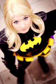batgirl in bokeh