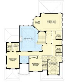 Stunning Master Suite - 32232AA | 2nd Floor Master Suite, Butler Walk-in Pantry, CAD Available, European, Florida, Luxury, MBR Sitting Area, Media-Game-Home Theater, Mediterranean, PDF, Photo Gallery, Spanish | Architectural Designs