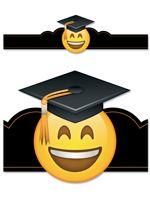 Emoji Fun Graduation Crown