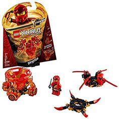 Amazon.com: LEGO NINJAGO Spinjitzu Kai 70659 Building Kit (97 Pieces): Toys & Games Katana, Legos, Lego Ninjago Spinners, Ninjago Spinjitzu, Ninjago Kai, Pokemon, Spinner Toy, Buy Lego, Lego Brick