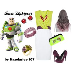 Buzz Lightyear. A beauty collage from February 2015